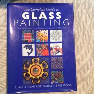 Book The complete guide to glass painting